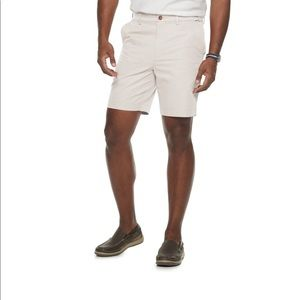 Classic-Fit Quick-Dry Performance Flat-Front Short